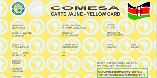 Comesa yellow card